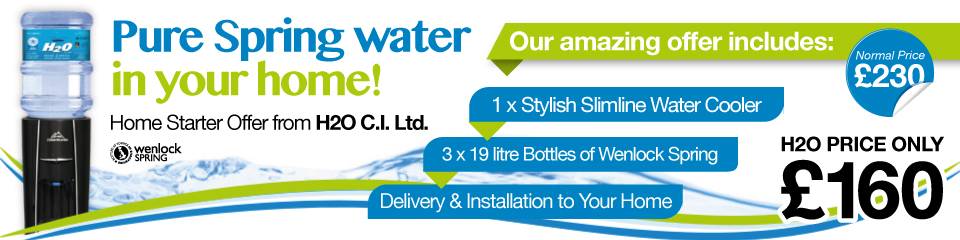 Jersey Water Cooler Offer